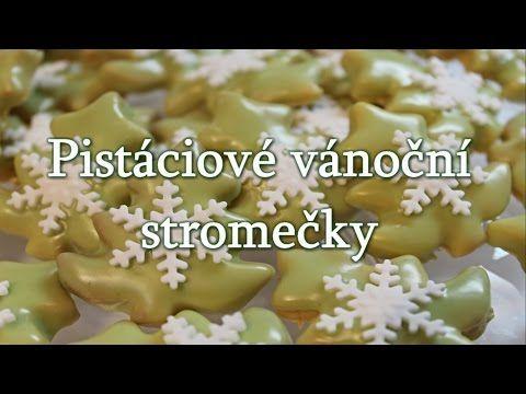 Pistáciové vánoční stromečky / Helenčino pečení - YouTube
