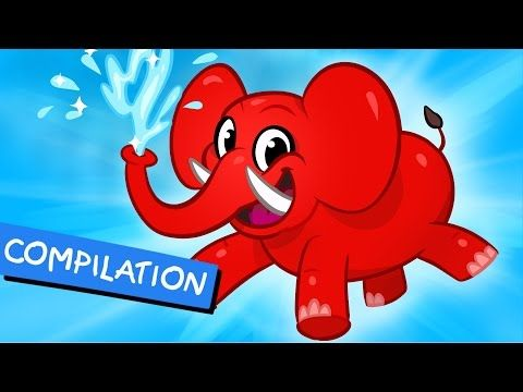 My Pet Elephant - Learn to Clean + 1 hour kids Video compilation for kids by My Magic Pet Morphle - YouTube