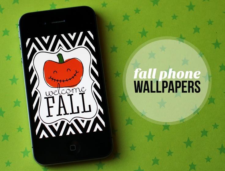 eighteen25: Free Fall Phone Wallpapers
