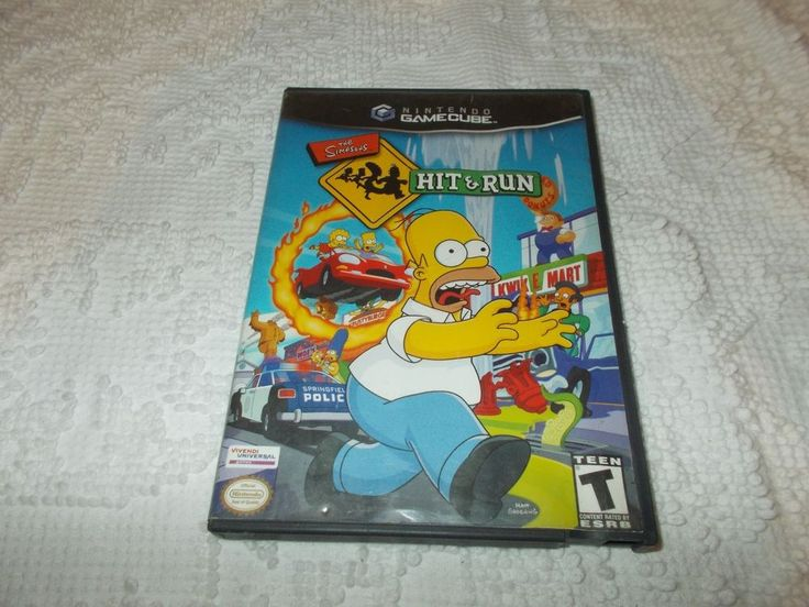 The Simpsons Hit & Run Nintendo GameCube Video Game Only #Nintendo