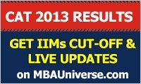 CAT Convener has confirmed that CAT 2013 results will be announced on January 14. Know the cut-off of IIMs and calculate your chances for Admission 2014 on MBAUniverse.com