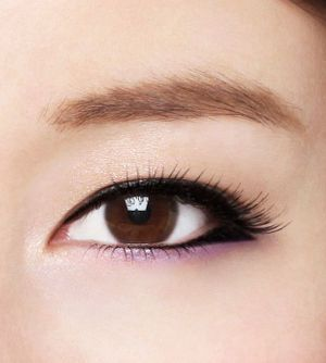 eye makeup【愛されタレ目ライン】