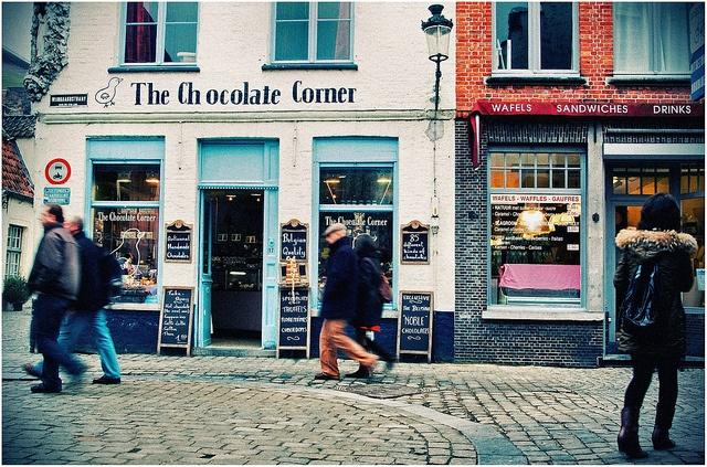 Bruges (Belgium) - The Chocolate Corner