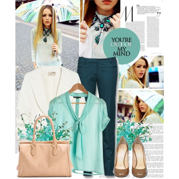 """""""mint in mind"""" by shinystar on Polyvore"""