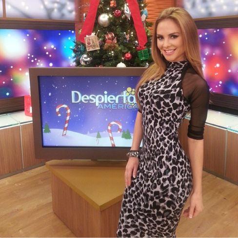Despierta America's Ximena Cordoba wearing a stunning Charlotte Russe dress! http://www.charlotterusse.com/category/Dresses/3021.uts
