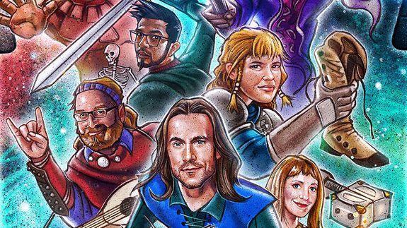 'Stranger Things' artist made a killer poster for 'D&D' web series 'Force Grey'