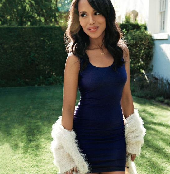 Beautiful shot of Kerry Washington for the latest issue of Women's Health magazine
