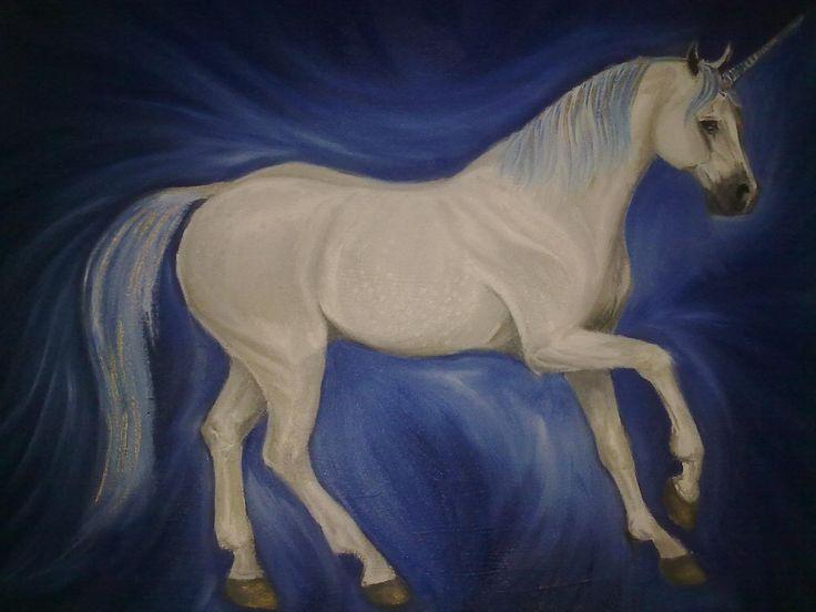 Mystic Dancer ~ Block Mounted Oil Painting by Dawn Du Preez #DawnDuPreez