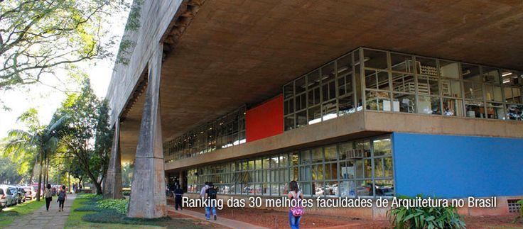 Ranking das 30 melhores faculdades de Arquitetura no Brasil
