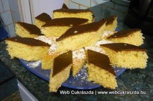 Könnyű kókuszos kevert süti