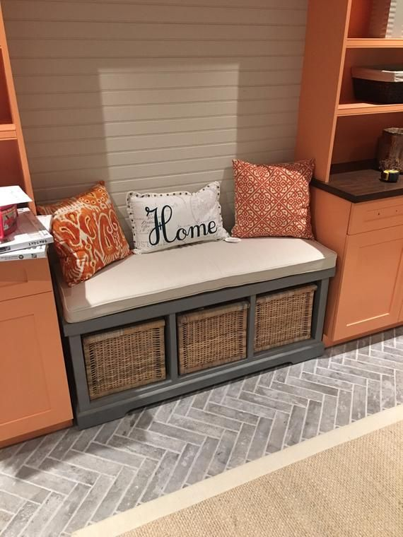 Custom Sewn Window Seat Cushion With Cording Playroom Nursery Bench Chair Pad