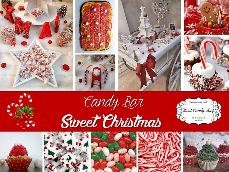 "Candy Bar ""Sweet Christmas"" by Hard Candy Shop"
