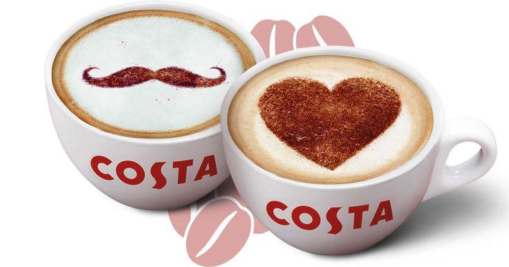 Příjemný start do nového týdne v Costa Coffee! Každé pondělí totiž při nákupu jedné kávy získáte druhou stejnou anebo levnější zdarma. A pokud zrovna není parťák po ruce, udělejte radost svému šéfovi či kolegovi! Donášku voňavé kávy přímo pod nos jistě ocení.