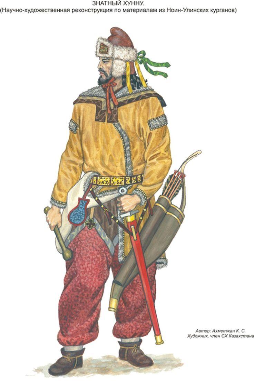 Hunnic Warrior