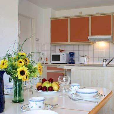 Küche Apartment - H+ ferienpark Usedom - Offizielle Webseite