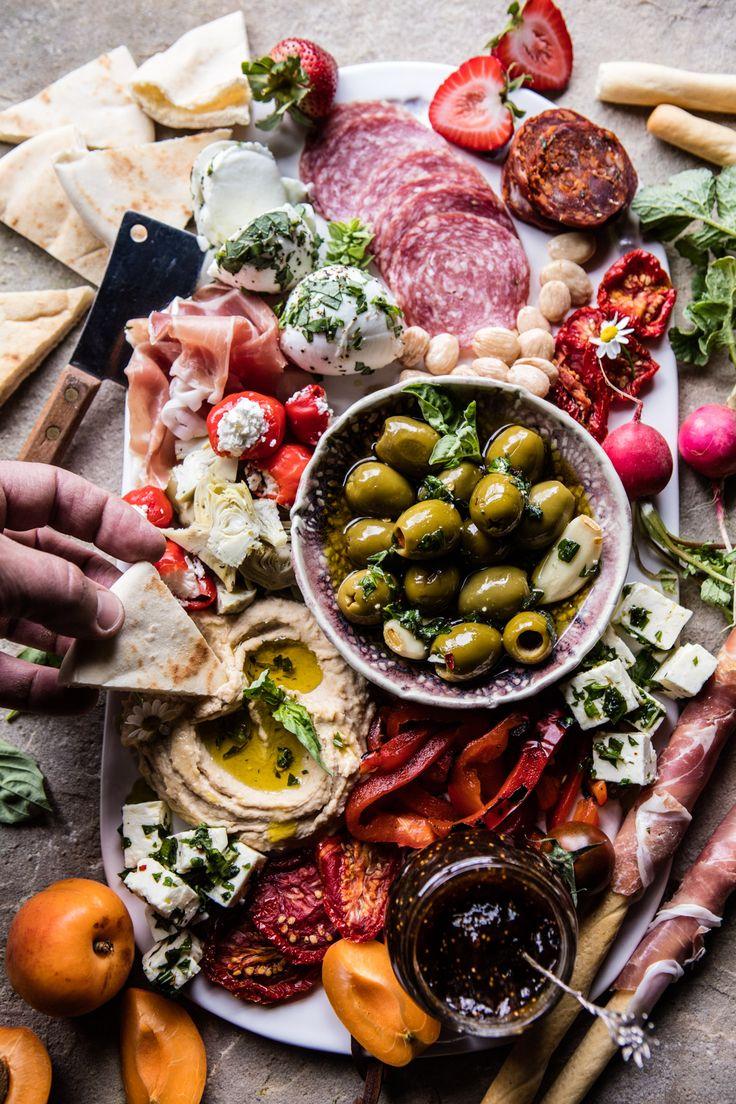 Greek Inspired Antipasto Platter | halfbakedharvest.com @hbharvest