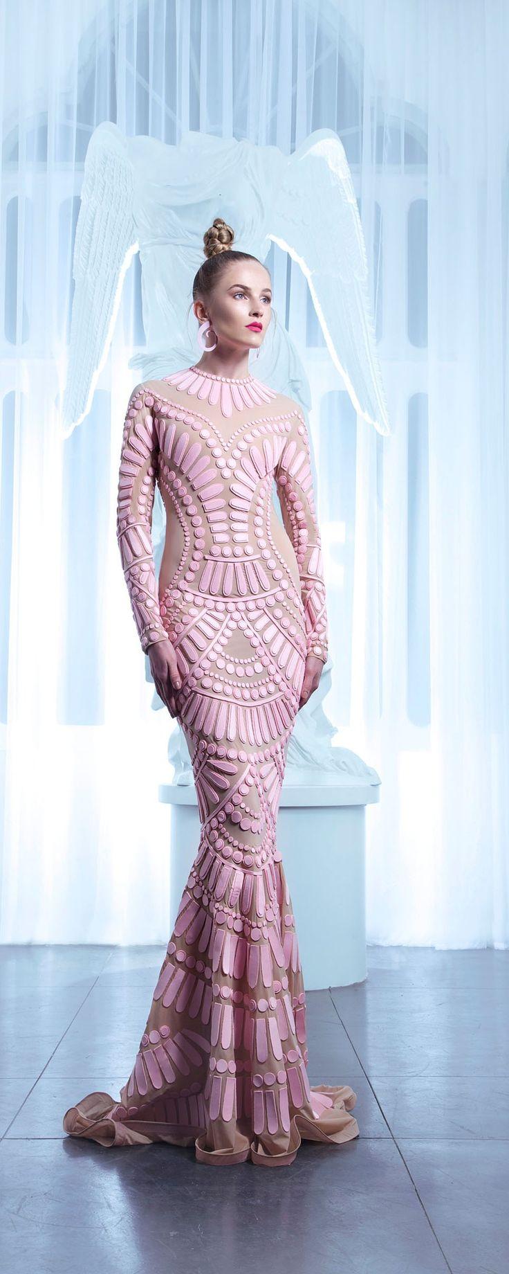 Nicolas Jebran İlkbahar-Yaz 2015 - Haute couture - http://tr.orientpalms.com/Nicolas-Jebran-5749
