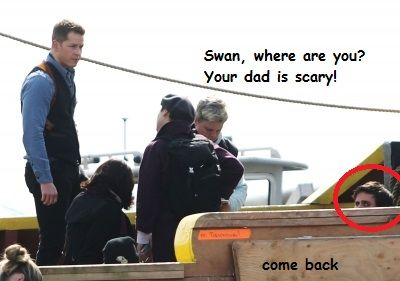 """Swan, where are you? your dad is scary!"" HAHAHAHAHAHA!!!! Oh this makes me laugh :)"