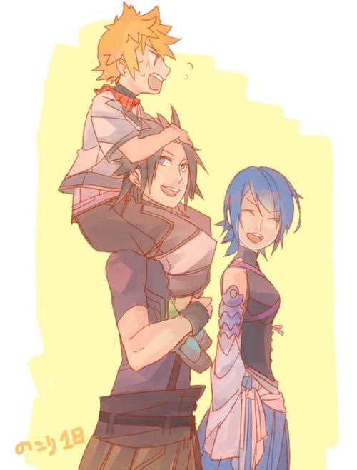 Terra, Aqua, Ventus from Kingdom Hearts!