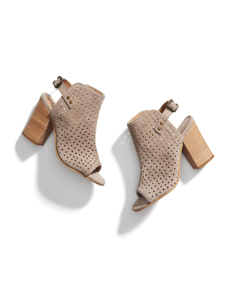 Stitch Fix Spring Resort Wear: Perforated Booties