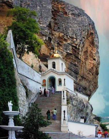 Uspens'kyi Cave Monastery, Bakhchysarai, Crimea, S Ukraine ,  from Iryna with love