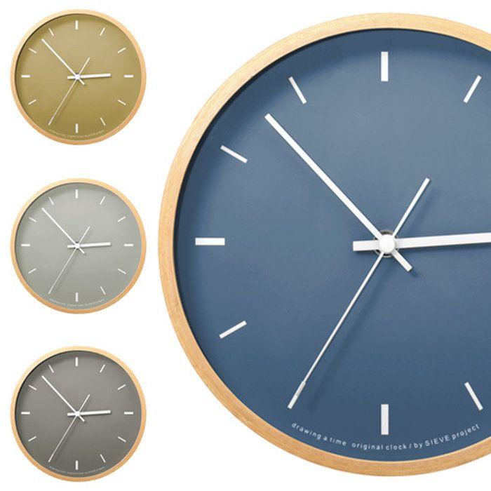 掛け時計SIEVE時計paint[ペイント]【置き時計置時計時計壁掛け時計おしゃれモダン北欧インテリア時計雑貨デザインデザイン掛け時計壁掛け和モダンシンプル小さい小さめ結婚祝い玄関内祝いウォールクロックギフト】6