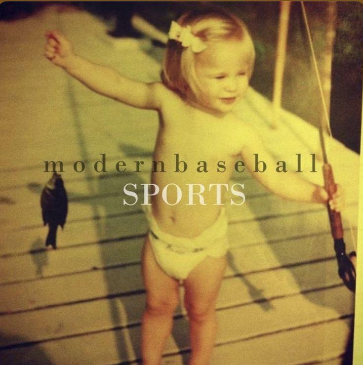 Modern Baseball Sports Album Cover In 2020 Sports Baseball Sports Sports Vinyl