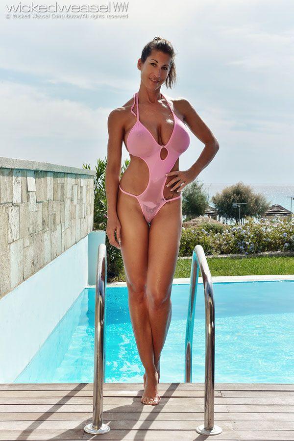 German micro bikini