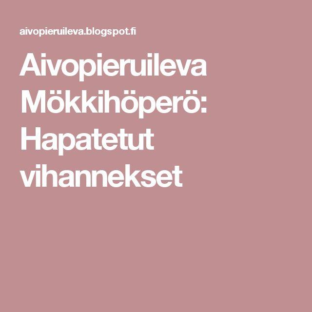 Aivopieruileva Mökkihöperö: Hapatetut vihannekset