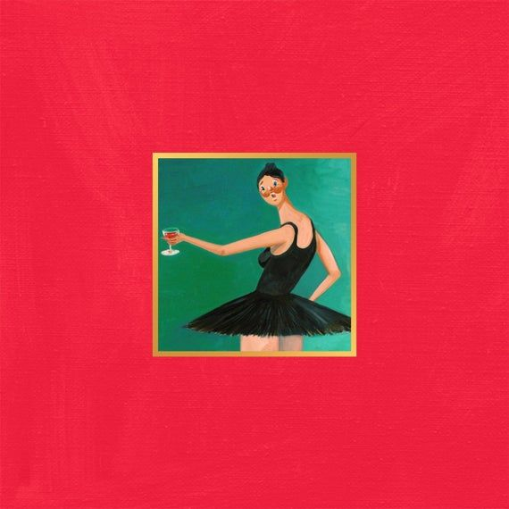 Ye Mbdtf In 2020 Beautiful Dark Twisted Fantasy Album Art Kanye West