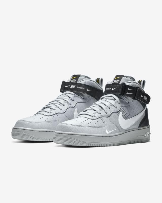 reputable site d2cf5 ea586 Nike Air Force 1 07 Mid LV8 Mens Shoe