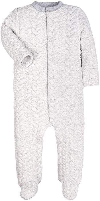 dfc26541f84d Amazon.com  Baby Boys Girls Warm Long-Sleeve Footed Pajamas Sleeper ...