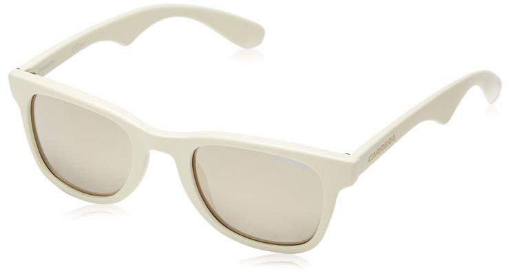 Carrera Sunglasses Carrera 6000 N5A UE Acetate plastic Beige Grey mirror. Frame Colour - white. Lens Colour - Grey Ivory. Lens Size - 50mm. Filter Category - 2. Total UV Protection.