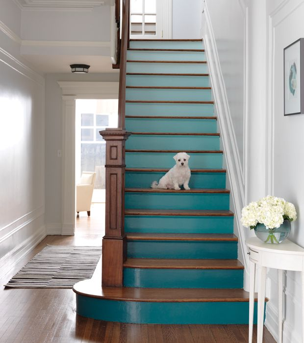 Top 70 Best Painted Stairs Ideas: 25+ Best Ideas About Painted Stair Risers On Pinterest