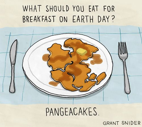 comic geology   Happy Earth Day! Enjoy your supercontinental breakfast.
