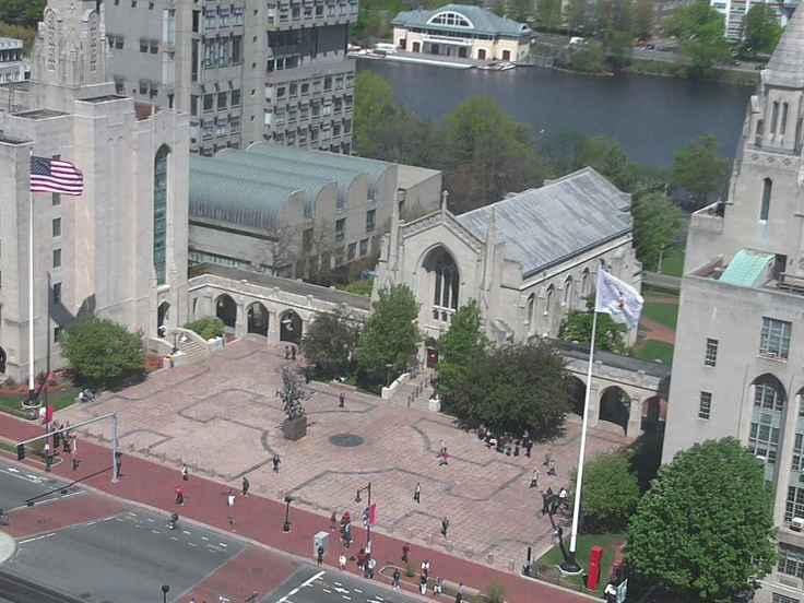 Marsh Plaza Boston University