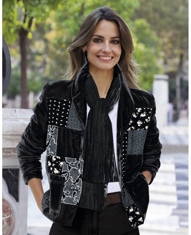 """""""Changes By Together"""" Changes By Together Patchwork Jacket at Marisota"""