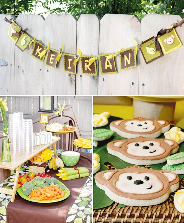 Monkey Birthday Party.  Bean's birthday party will be coming up in a few months.  We're going to do a live show for his local fans and party it up!