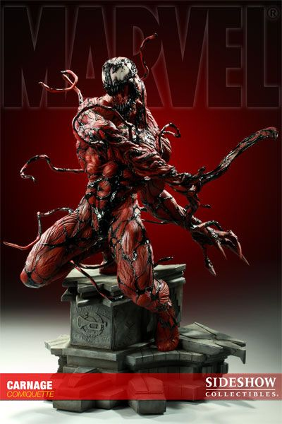 Carnage Polystone Statue