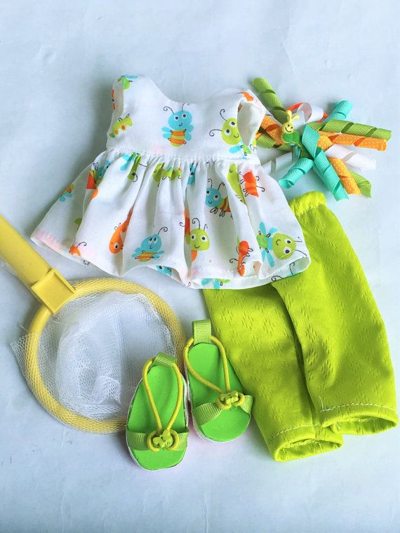 Bug Safari Outfit for Willa and her Wellie Wisher by SewDolledUp81