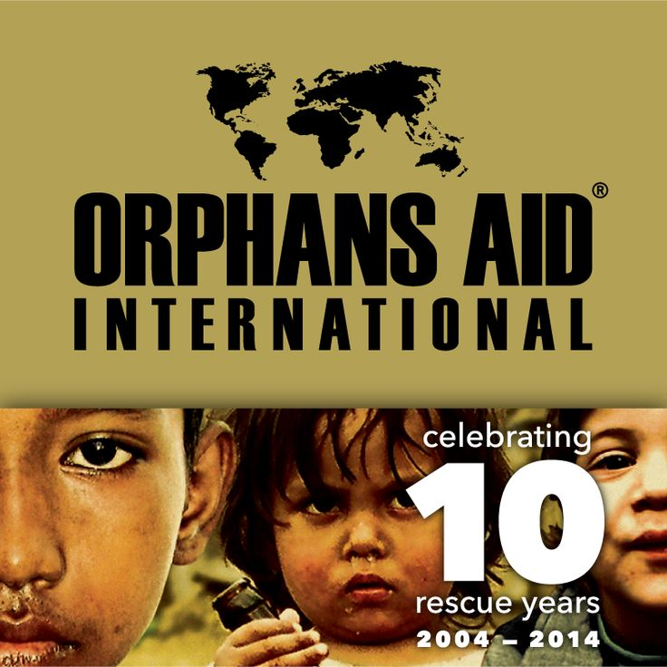 Hey fellow Pinners! This year we're turning double-digits! 10 years of rescue stories. Check out our new Pinterest Profile Pic! Become a part of our story in 2014. We need all the help we can get! www.orphansaidinternational.org