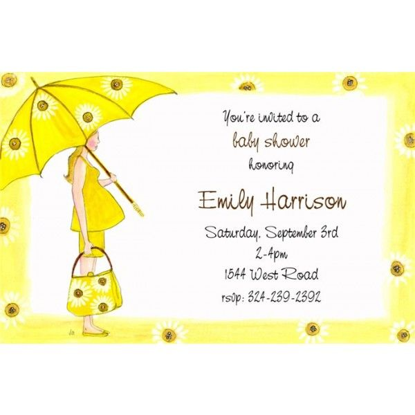 Daisy Baby Shower By Vg Designs Invitation Box For Babies Pinterest Invitations And