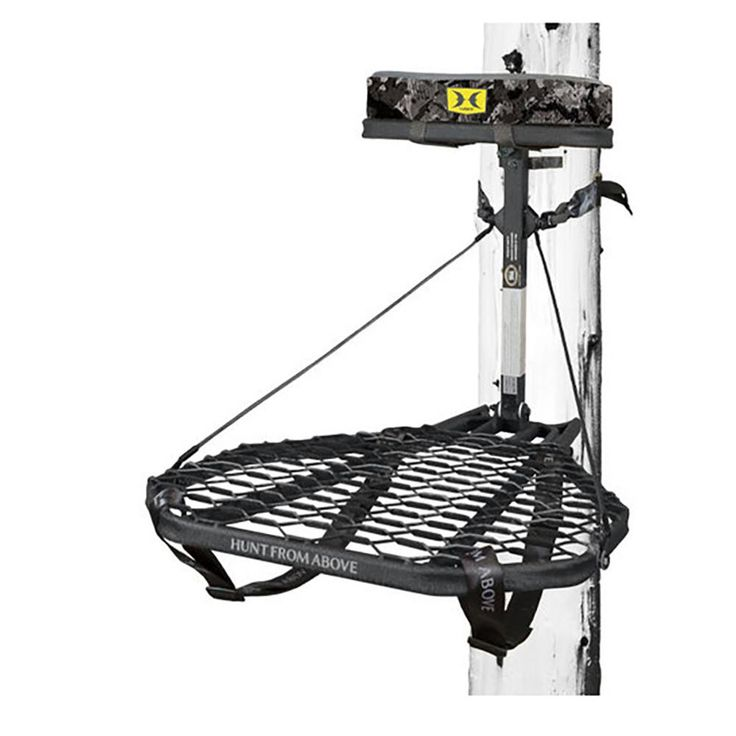 Hawk combat durable steel hangon hunting treestand and
