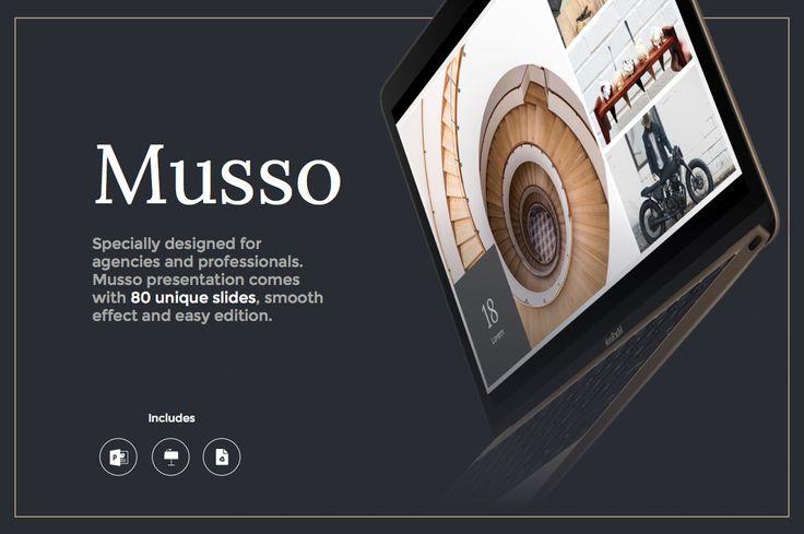 Musso Presentation by MarketMe on @creativemarket