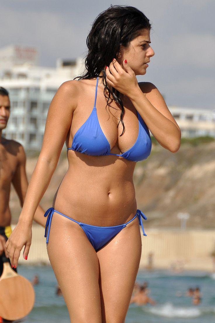 Teen bikinis busty girls