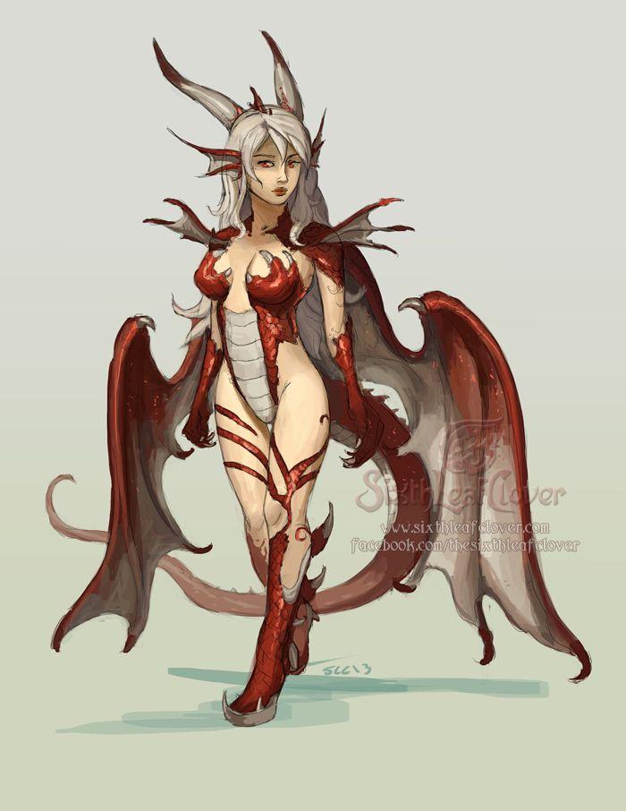 Dragon Tamer Girl by The-SixthLeafClover.deviantart.com on @deviantART