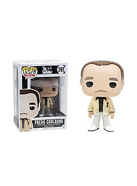 "Fredo Corleone, from Francis Ford Coppola's Academy Award-winning film The Godfather, is given a fun, and funky, stylized look as an adorable collectible Pop! vinyl figure from Funko!  Pop! Movies 3923 3/4"" tallVinyl<..."