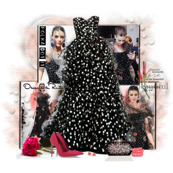 Oscar de La Renta by marcialaraia on Polyvore featuring moda, Schutz, See by Chloé, MARC BY MARC JACOBS, Oscar de la Renta and Cyrus