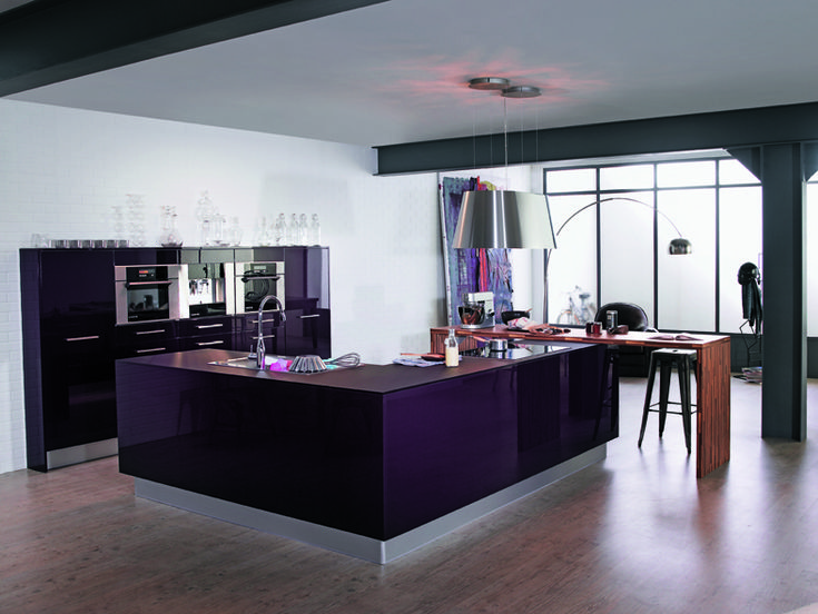 les 13 meilleures images propos de cuisine violette sur pinterest blog cuisine et d co. Black Bedroom Furniture Sets. Home Design Ideas