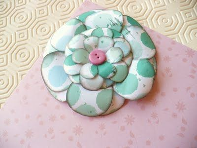 SBD3 tipi di Fiori per Scrapbooking senza fustellatrici! - Handmade paper flowersby SweetBioDesign